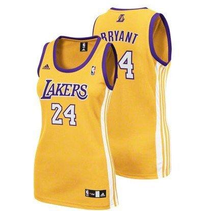 Women's Los Angeles Lakers #24 Kobe Bryant Jersey Dress Home ...