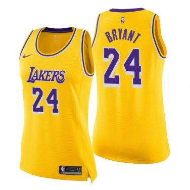 Women's Los Angeles Lakers #24 Kobe Bryant Jersey Dress Icon ...