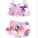 Girls Princess 2 Piece Swim Suit