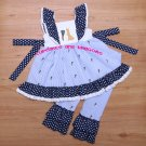 Girl Easter Ruffle Lace Pant Boutique Set **EASTER COLLECTION**