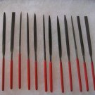 Needle Files 12 Pc. Set Assorted Dipped 3mm x 140mm