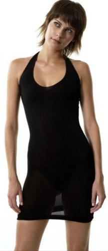 Open Back Mini Halter Dress - New
