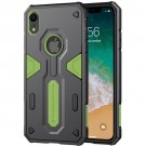 NILLKIN Tough Defender II Case Shockproof TPU + PC Case for iPhone XR (Green)