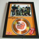 rolling stones  signed disc