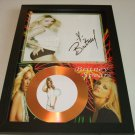 britney spears    signed disc