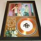 kings of leon    signed disc