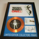 MICHAEL JACKSON   signed disc