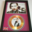 marilyn manson  signed disc