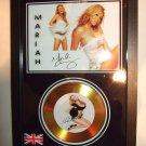 mariah carey   signed disc
