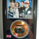 fall out boys  signed disc