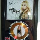 avril lavigne  signed disc
