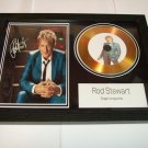 rod stewart  signed disc