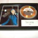 tom jones    signed disc