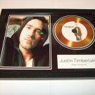 justin timberlake    signed disc
