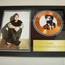 ed sheeran   signed disc