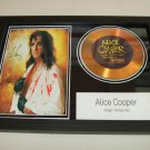 alice cooper    signed disc