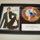 cliff richards     signed disc