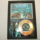 tron signed framed mount