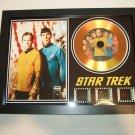 star trek film cell   framed mount