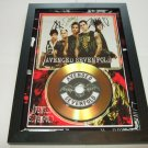 avenged sevenfold  signed disc