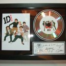 lONE DIRECTION  signed disc