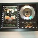 BATMAN  signed disc