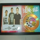 BLINK 182   signed disc
