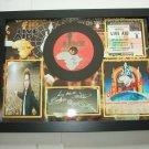 u2 live aid  signed disc
