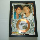 wham   signed disc