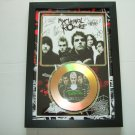 my chemical romance   signed disc