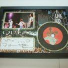 queen live aid   signed disc