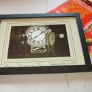 back to the future framed  clock tower