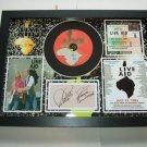 status quo live aid   signed disc