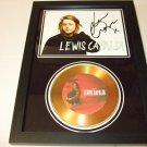 lewis capaldi signed disc