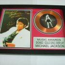michael jackson    signed disc