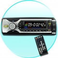 Super Sound 1-Din Car Audio + Video System - 52Wx4 Output