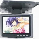 7 inches Revolving Roof Mounted Car Monitor, w/IR, NTSC/PAL