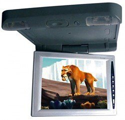 10.4 Inches Roof-mounting TFT LCD Monitor, Wide Screen, 180