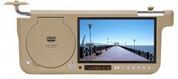 8.5 inches Sun Visor Monitor, FM, Built-in DVD player, Built-in Speakers & Headphone Outlet