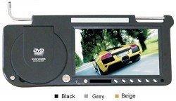 8.5 inches Sun Visor Monitor/TV, Built-in DVD player, FM, Built-in Speaker & Headphone Slot