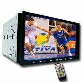 TV DVD player 7.0-inch TFT LCD - Touchscreen + USB