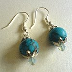 Turqoise Dangles Earrings