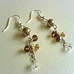Pearl Glitters Earrings
