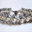 Swarovski Crystal and Pearl Glitters bracelet