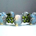 Opalised glass bracelet - Beauty Reflections