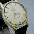Omega Constellation Certified Chronometer Pie Pan 14K & SS Mens Watch....34mm