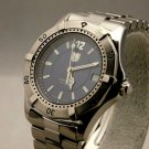 Tag Heuer Automatic Vintage 1990's Mens Blue Dial SS Watch Model WK2117....37mm