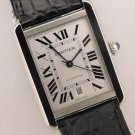 Cartier Tank Solo XL W5200027 Stainless Steel Automatic Mens Watch....31mm