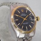 Rolex Datejust 1603 Automatic 18k Solid Gold/SS Mens 1974 Watch....36mm