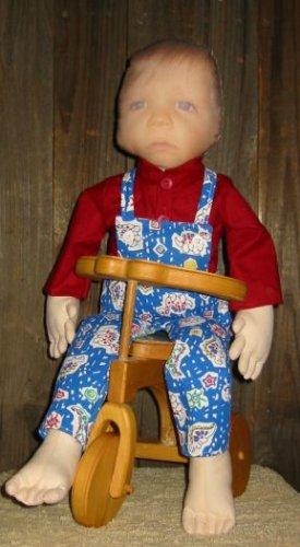 Keepsake Doll Clothing Pattern -Jack Edward EC